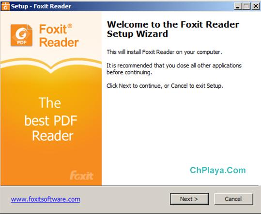 Hướng dẫn cài đặt Foxit Reader trên PC