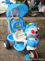 Sepeda Roda Tiga Kid Love Kucing Safety Bar dengan Penahan Ekstra 2