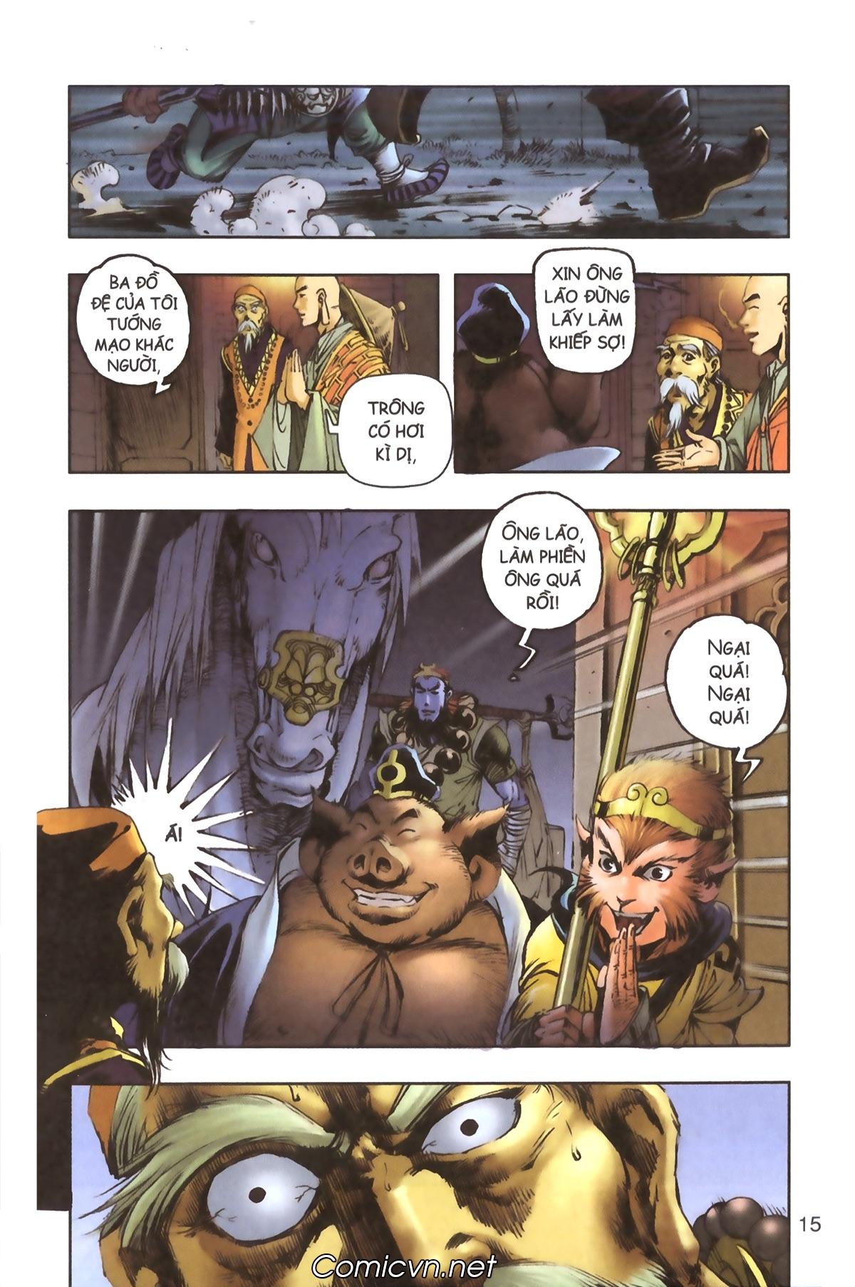 Tây Du Ký màu - Chapter 91 - Pic 15