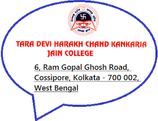 THK Jain College, 6, Ram Gopal Ghosh Road, Cossipore, Kolkata - 700 002, West Bengal