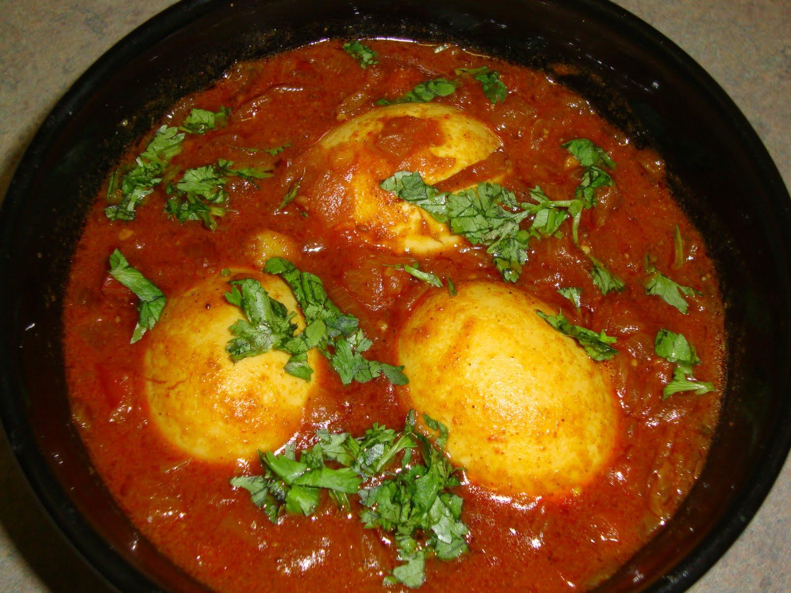 Egg Curry Recipe Dishmaps