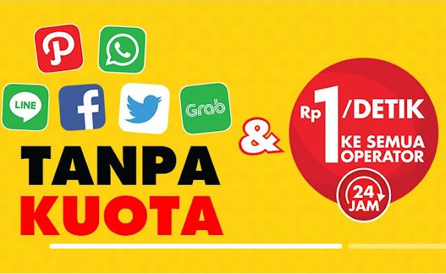 Bukan Promo : Akses Aplikasi Sehari Hari Tanpa Kuota Dari Indosat Ooredoo