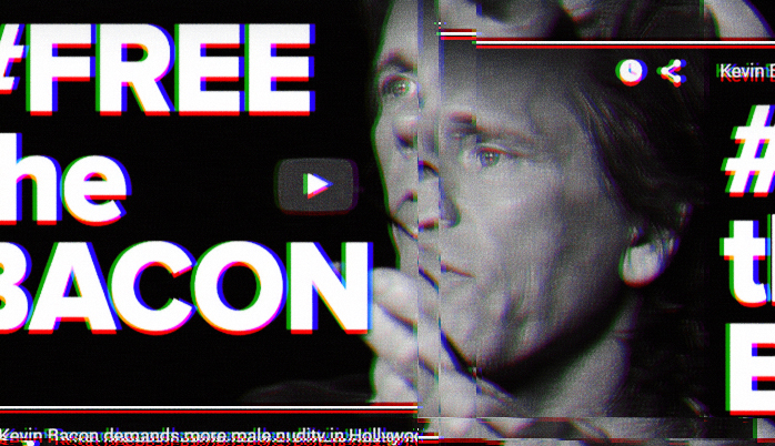 Photoshop Latest Free Actions: Corrupted VHS 3D Photoshop