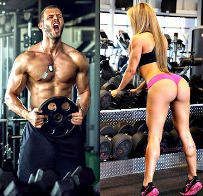 Ganar masa muscular fácilmente pesas hombre mujer