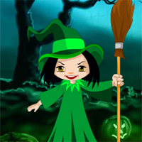Games2Rule Halloween Witch Candy Bowl Escape