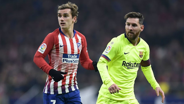 Le 11 possible du Barça avec Antoine Griezmann