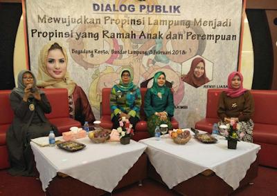"Pemprov Gelar Diskusi Publik ""Mewujudkan Provinsi Lampung yang Ramah Anak dan Perempuan"""