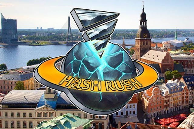 Hash Rush - a Blockchain-based Strategy Game