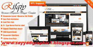 Rifqiy Responsive Magazine/News Blogger Template Free Dwonload