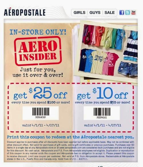 photo regarding Aeropostale Application Printable known as Aeropostale discount coupons printable sept 2018 : The redheaded
