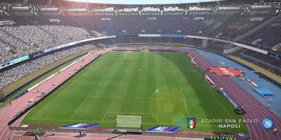 Update PES 2017 Stadio San Paolo Napoli