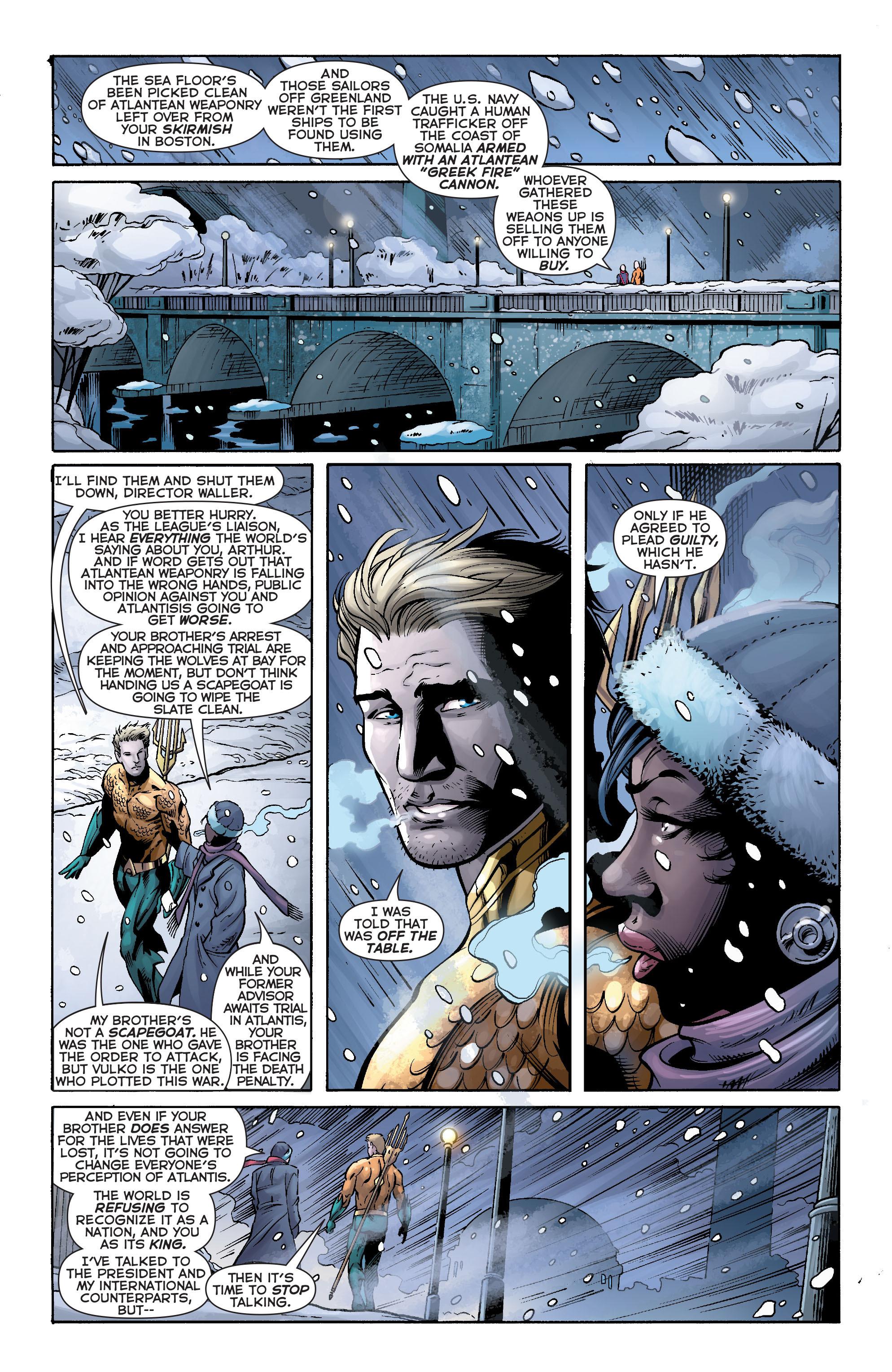 Read online Aquaman (2011) comic -  Issue #17 - 13