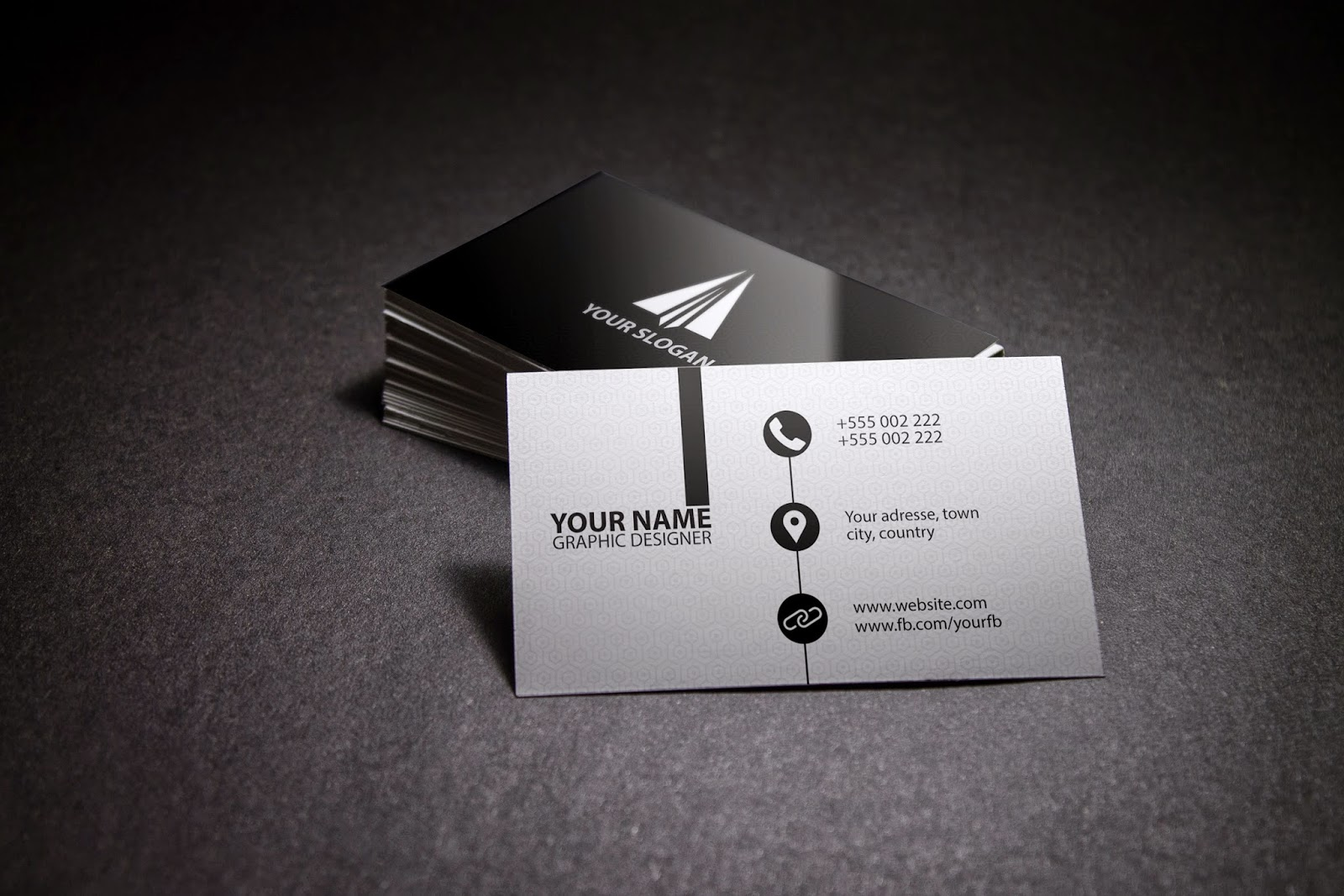 Free photoshop tutorials clean modern business card illustrator tutorial colourmoves