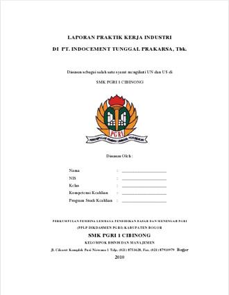 Contoh Laporan Praktek Kerja Lapangan Smk Jurusan Administrasi Perkantoran