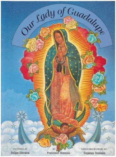 our lady of guadalupe pop up book