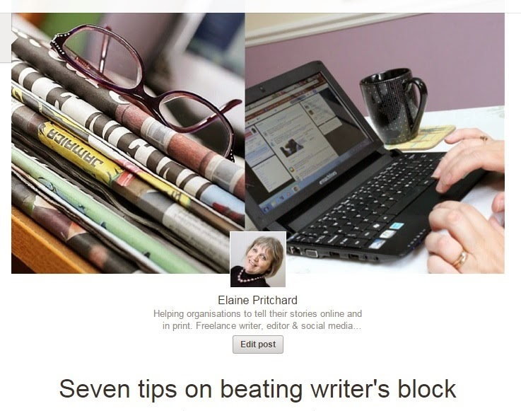 Tips on beating writer's block