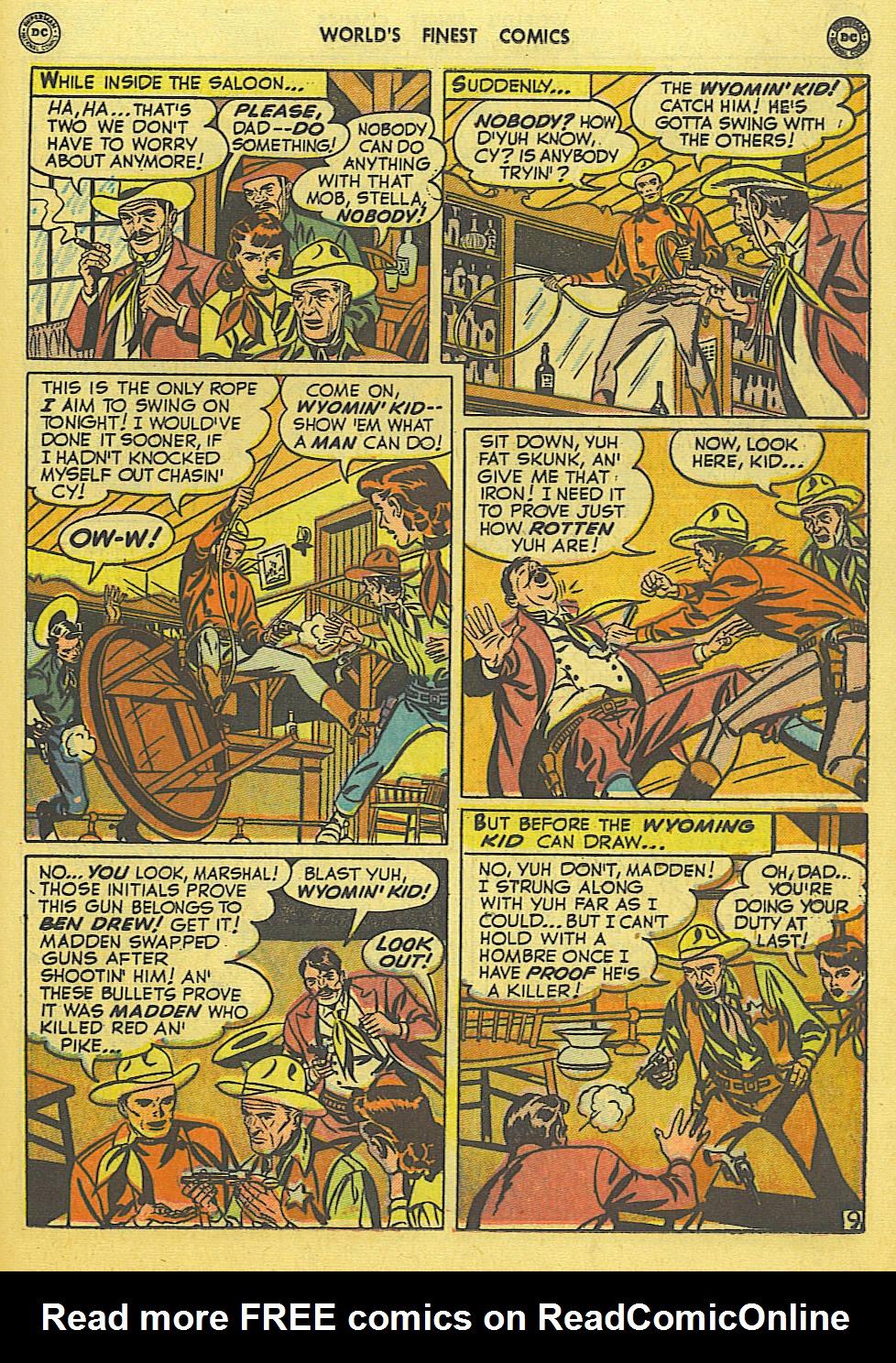 Read online World's Finest Comics comic -  Issue #49 - 48