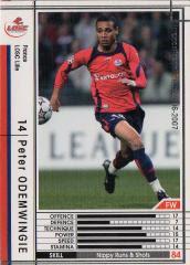 2006-2007 Panini//Sega Japón Nº 32 Wccf Areil Ortega CA River Plate