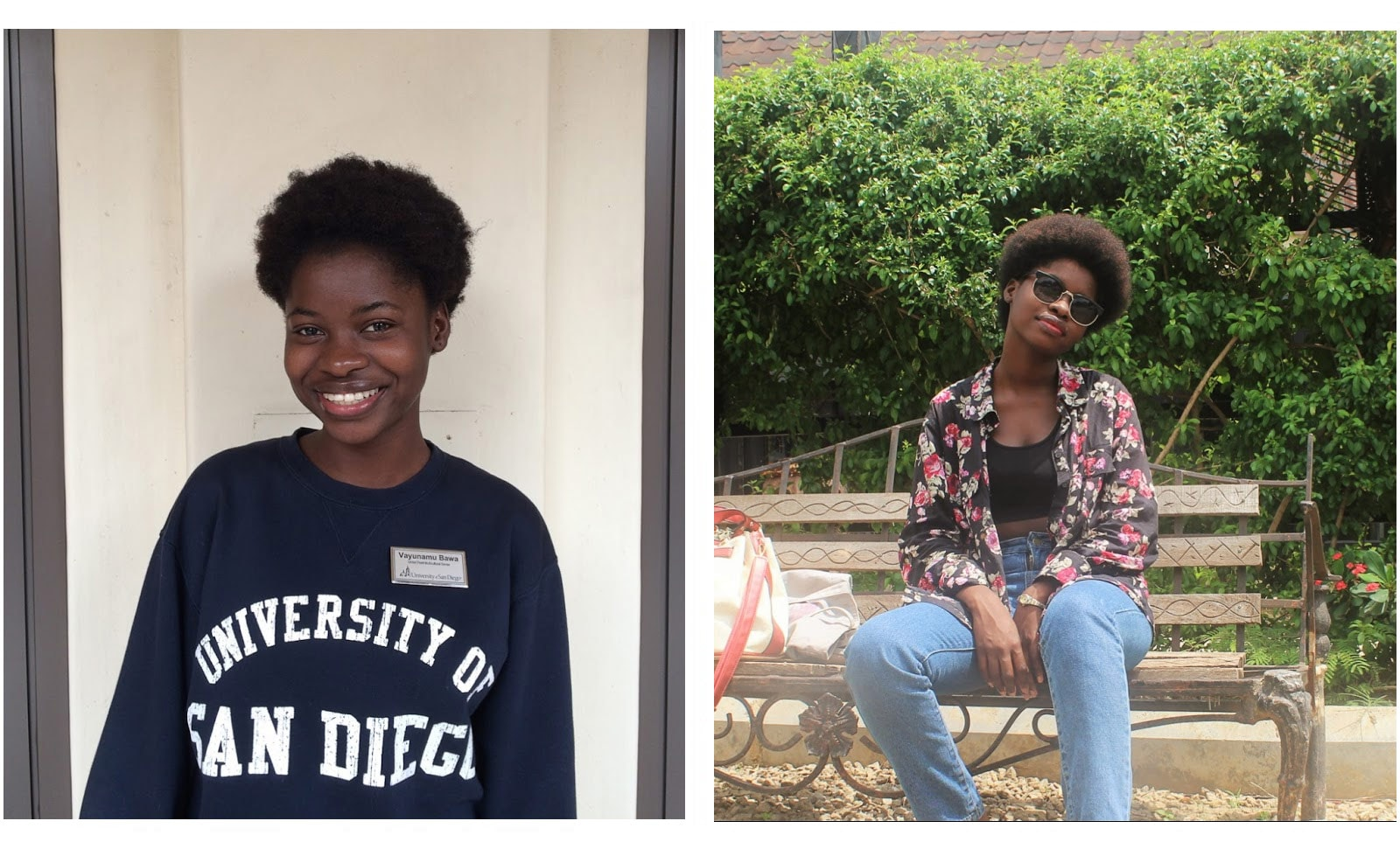 College student's natural hair journey