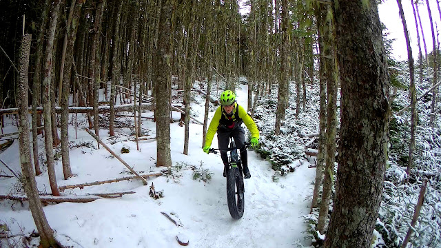 Ice Climbing fat Bike