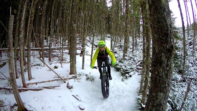 Ice Climbing fat Bike
