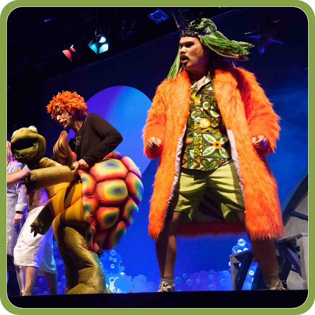Personajes del Teatro Musical La Sirenita