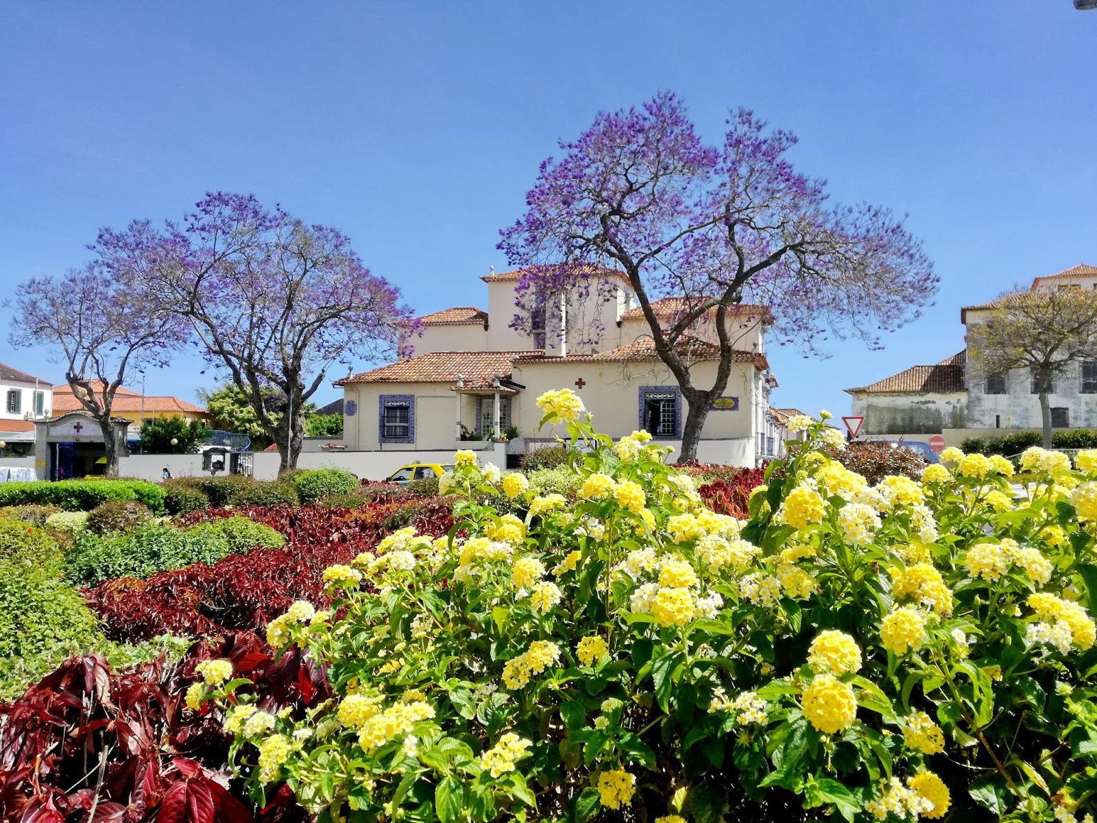 jardim no Largo Severiano Ferraz
