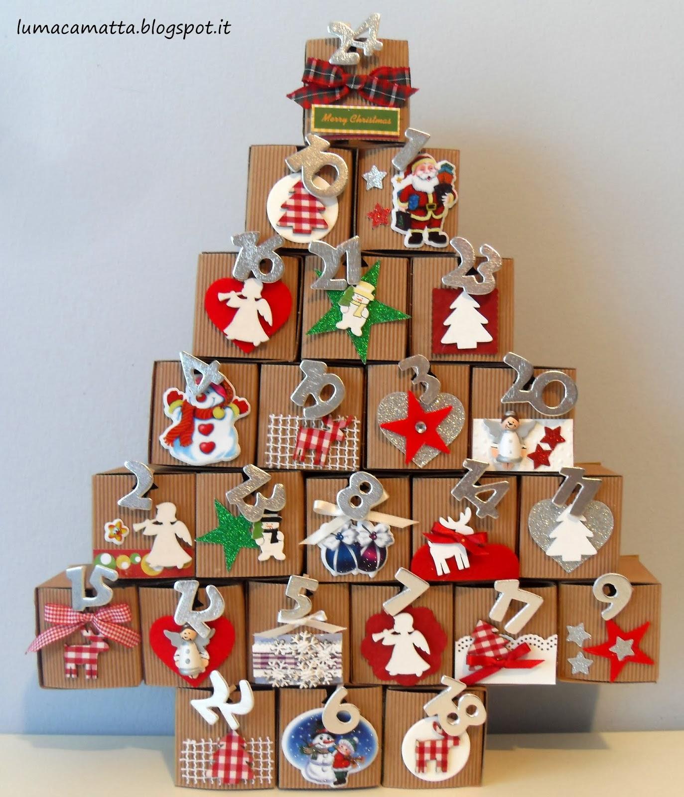 Il Calendario Dellavvento.Lumaca Matta Handmade With Love Calendario Dell Avvento 2013