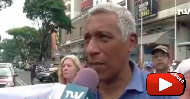 Hombre responsabilizó a Maduro por la muerte de su mujer