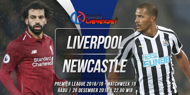 Prediksi Bola Liverpool vs Newcastle United Liga Inggris