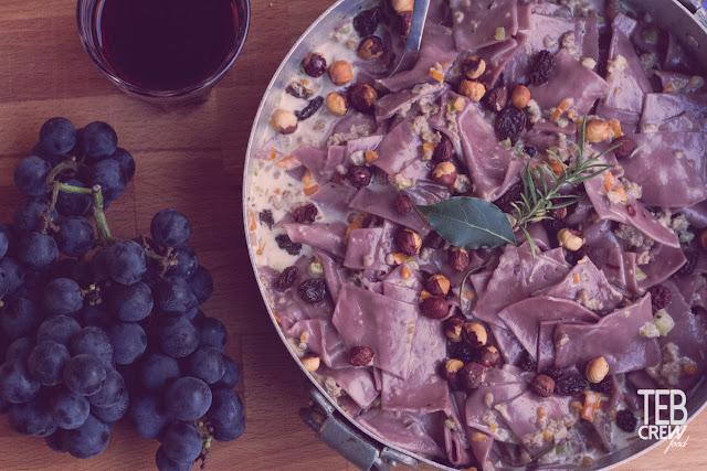 maltagliati al vino rosso ricette