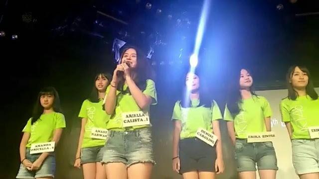 JKT48 Academy Generasi ke-6 Ariella Calista Ichwan