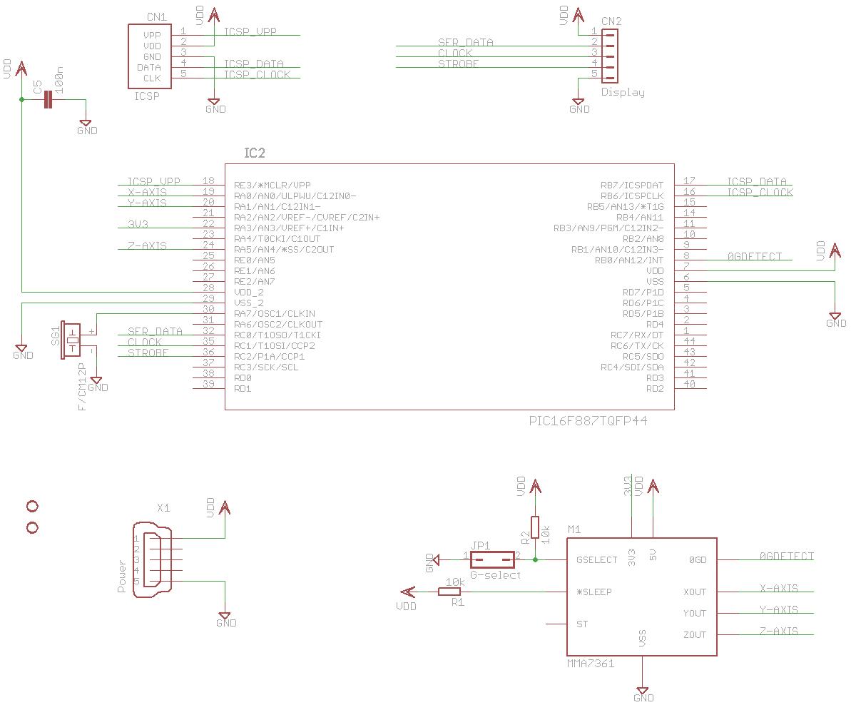 Viktor S Diy Pic Based 3 Axis Accelerometer