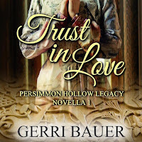 "Book cover of the novella ""Trust in Love"""