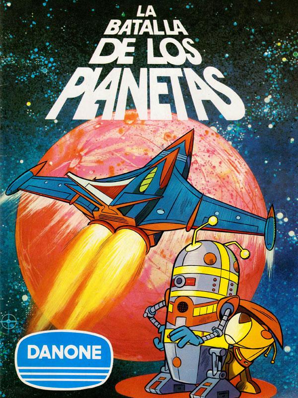 Album cromos Danone La batalla de los planetas