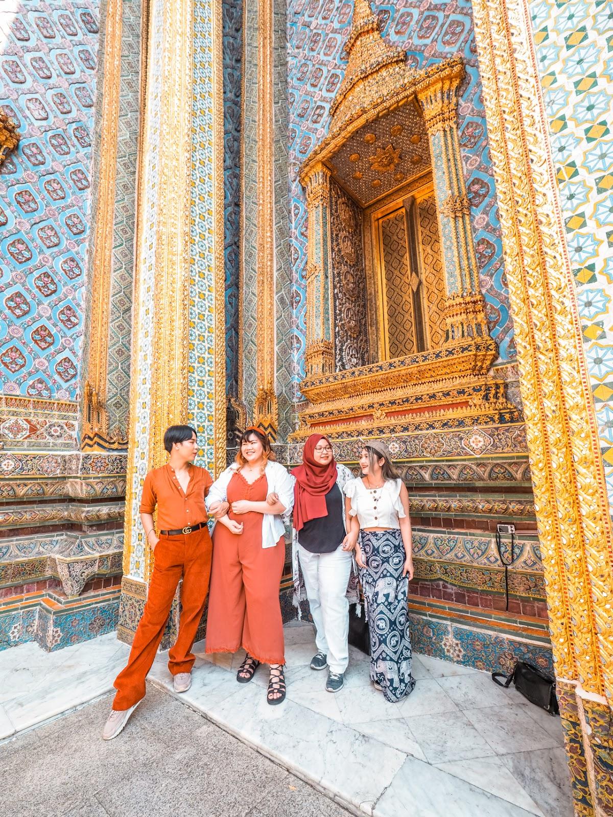 Visiting Wat Phra Keaw