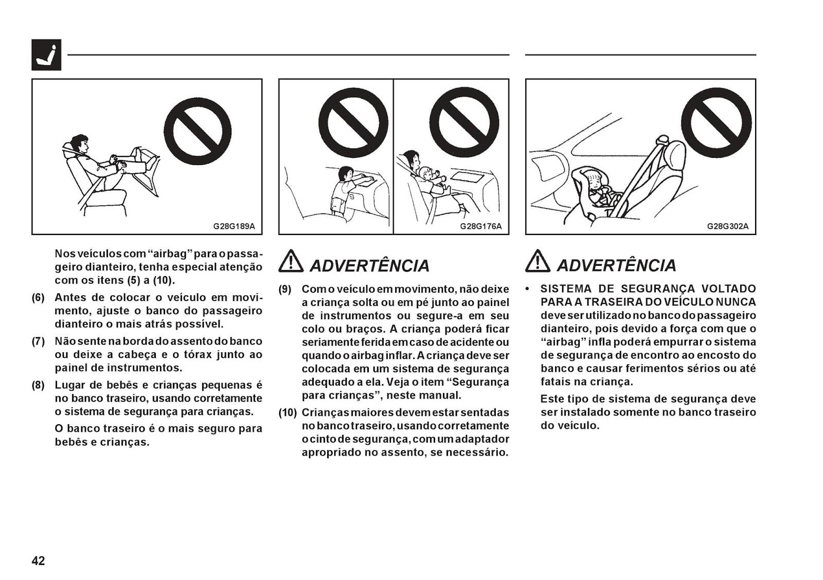 MANUAIS DO PROPRIETÁRIO: MANUAL DA PAJERO TR4 2006