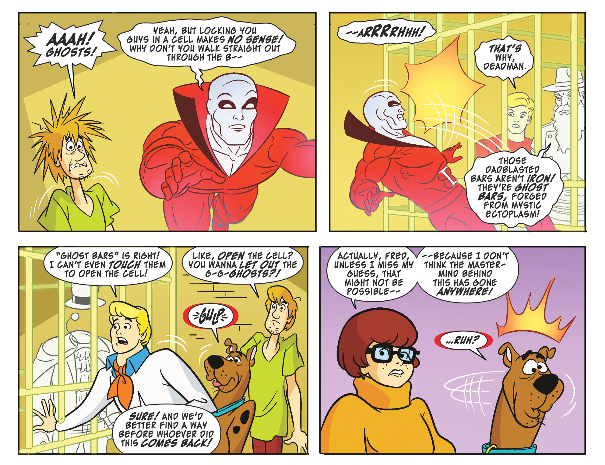 Read online Scooby-Doo! Team-Up comic -  Issue #25 - 17