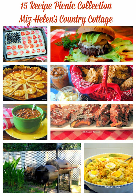15 Recipe Picnic Collection at Miz Helen's Country Cottage