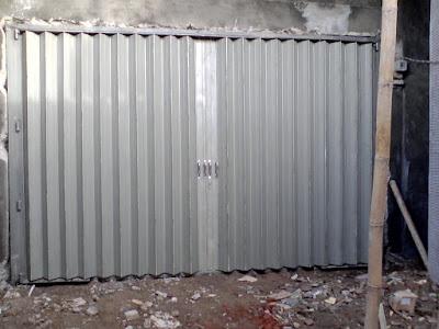 Beli Pintu Besi Harmonika Per Meter Surabaya Timur Murah