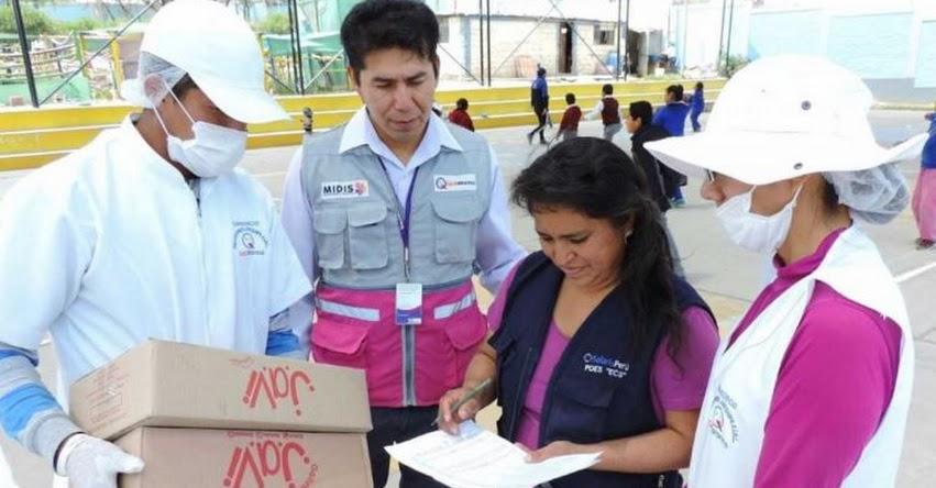 QALI WARMA: Programa social supervisa distribución y conservación de alimentos en Arequipa - www.qaliwarma.gob.pe