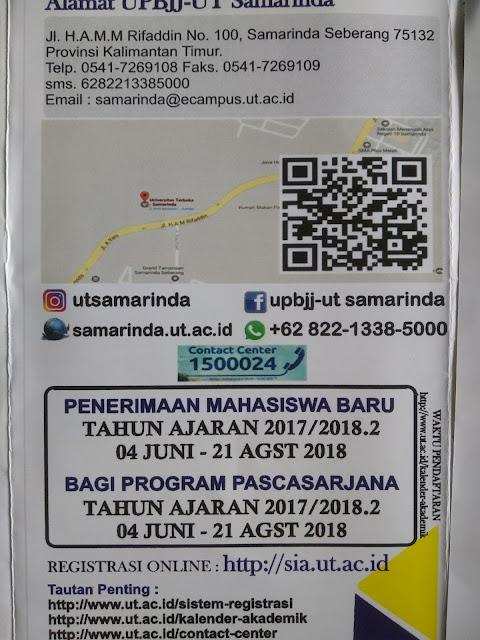 periode pendaftaran mahasiswa baru universitas terbuka 2018/2019