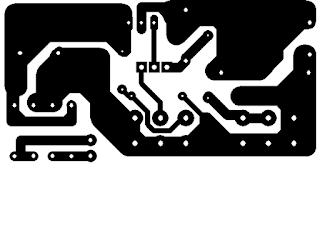 رسم PCB لطباعة الدائرة الالكترونية
