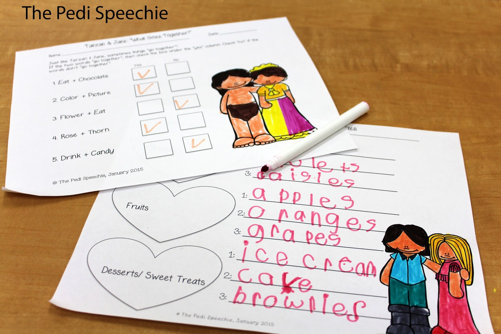 February Speech Therapy