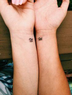 Symbol Matching Tattoos