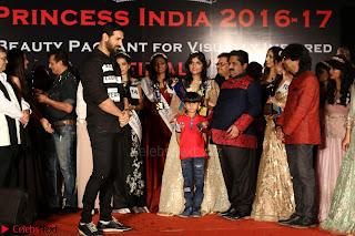 John Aham, Bhagyashree, Subhash Ghai and Amyra Dastur Attends Princess India 2016 17 054.JPG