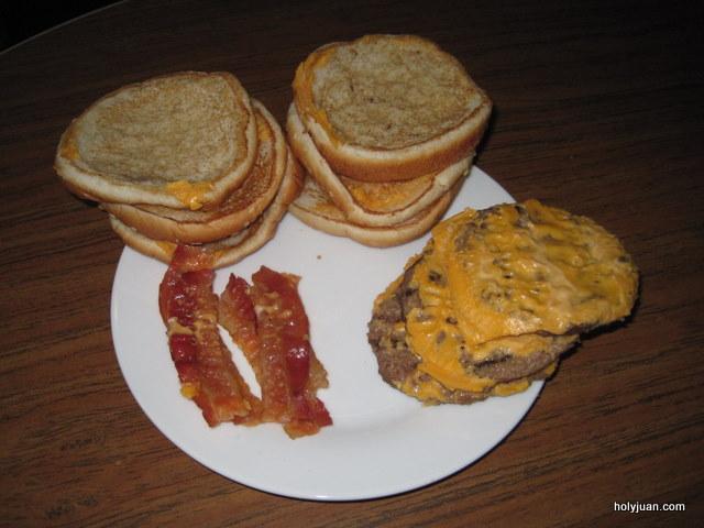 single stacker burger king calories