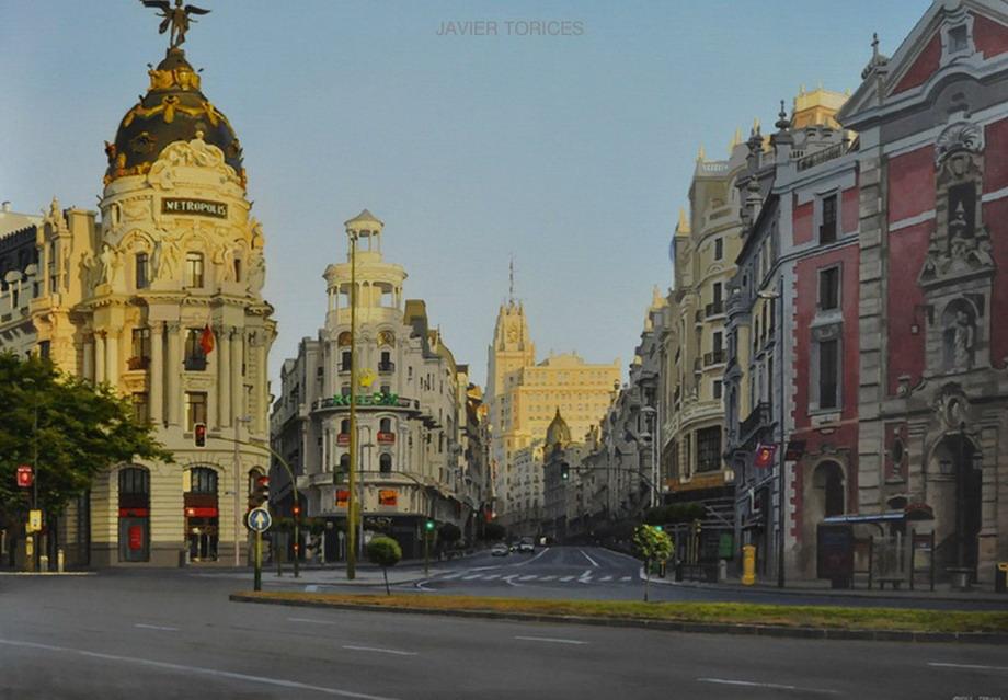 Pintura Moderna y Fotografía Artística : Paisajes Madrileños De La ...