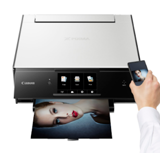 This white Canon Pixma Home TS9060 Wireless Inkjet MFC Printer has print, copy and scan functions making it an ideal solution for your home or workspace.