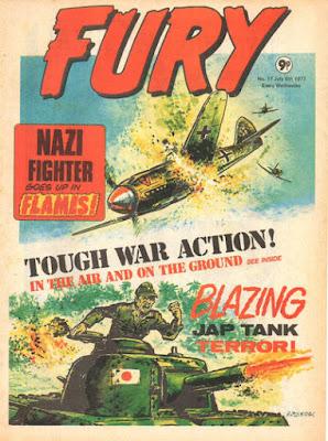 Marvel UK, Fury #17